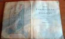 The title page of Städte Pamphyliens und Pisidiens
