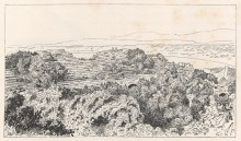 Roman theatre in Side - illustration from Städte Pamphyliens und Pisidiens