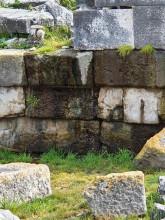 Sodden Archaic wall, Apollo Temple in Didyma