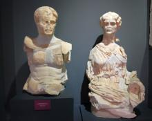 Augustus and Livia statues, Ephesus Museum in Selçuk
