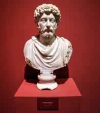 Marcus Aurelius bust, Ephesus Museum in Selçuk