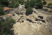 Excavated ancient theatre of Didyma