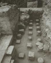 Roman Baths in Didyma - hypocaust system