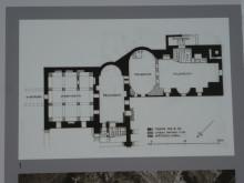 Roman Baths in Didyma - plan