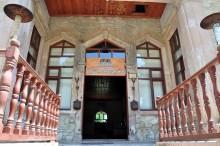 The building of former elementary school, now Artemis Restaurant, in Şirince