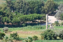 The temple of Artemis seen from Ayasuluk Hill