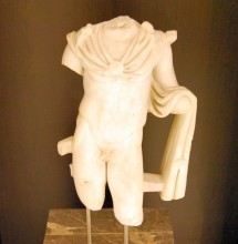 Apollo statue from Lüleburgaz, Roman period, Archaeological and Ethnographic Museum in Edirne