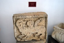 Byzantine relief - Archaeological and Ethnographic Museum in Edirne