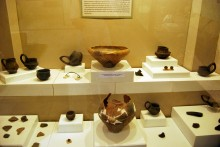 Finds from Hacılar Dolmen area - Archaeological and Ethnographic Museum in Edirne