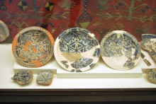 Ceramics, ethnographic section, Archaeological and Ethnographic Museum in Edirne