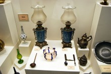 Lamps, ethnographic section, Archaeological and Ethnographic Museum in Edirne
