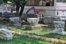 Garden of Archaeological and Ethnographic Museum in Edirne