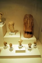 Marble statuettes, Roman period, Archaeological and Ethnographic Museum in Edirne