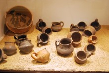 Finds from Taşlıcabayır tumulus, Archaeological and Ethnographic Museum in Edirne