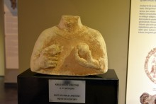 Bust of Cybele from the 6th century BC