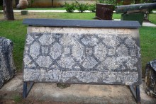 Mosaic in the museum's garden