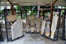 Ottoman period tombstones in the museum's garden