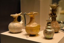 Glass vessels from the Roman period
