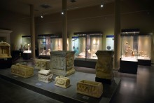 Main showroom of Alanya's Archaeological Museum