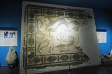 Nautical-themed mosaic
