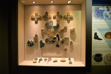 Ceramic tiles from Alanya castle