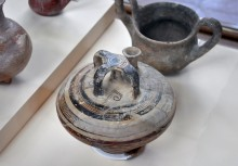 Mycenean pottery, Troy VI-VIIa, Archaeology Museum in Çanakkale