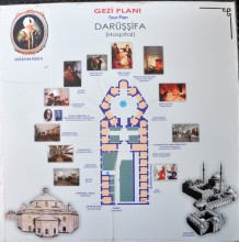Health Museum in Edirne - Plan of the Hospital