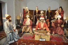 Health Museum in Edirne - Musicians and a Patient