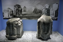 Miletus Museum - statues of Branchids from the sacred way to Didyma