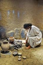 Miletus Museum - reconstruction of Minoan kitchen