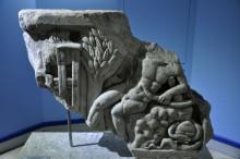 Miletus Museum - relief of Apollon Delphinios