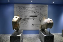 Miletus Museum - statues of sphinxes from the sacred way to Didyma