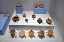Miletus Museum - terracotta lamps