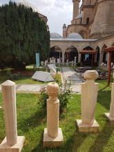 Museum of Turkish and Islamic Arts in Edirne - Ottoman-era tombstones