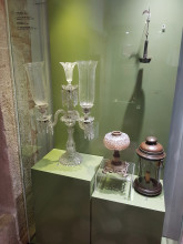 Museum of Turkish and Islamic Arts in Edirne - room of glassworks