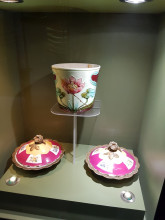 Museum of Turkish and Islamic Arts in Edirne - ceramics from New Edirne Palace
