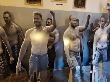 Museum of Turkish and Islamic Arts in Edirne - room of olive-oil wrestling
