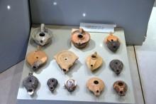 Olive-oil lamps found in Cumhurriyet Square excavations - Tarsus Museum
