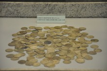 Emevian treasure of coins (the 8th century CE) - Tarsus Museum