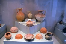 Hellenistic pottery - Tarsus Museum