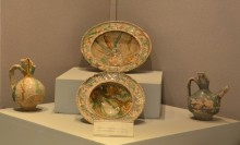 Ceramics (the 12th - the 13th century CE) from the ruins of Makam-ı Danyal Mosque - Tarsus Museum