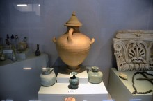 Finds from the Roman monumental tomb in Tarsus - Tarsus Museum