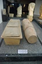Terracotta sacrophagi from the late Roman period - Tarsus Museum