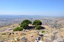 The Altar of Zeus in Acropolis of Pergamon