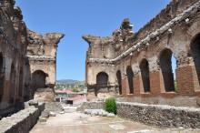 The Temple of Serapis (Red Basilica) in Pergamon