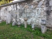 Şahmelek Mosque in Edirne - Ottoman era tombstones