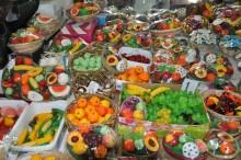 Ali Pasha Bazaar in Edirne - fruit soap