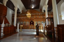 Church of Sts. Constantine and Helena in Edirne - the interior