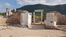Baptistery of the Church of the Virgin Mary in Ephesus
