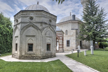 Darülhadis Mosque in Edirne - the mausoleums